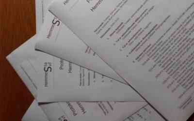 5 protokoll från hösten finns nu upplagda på hemsidan